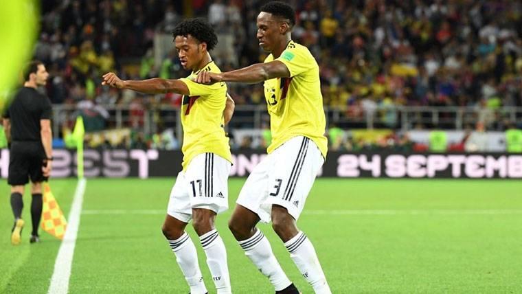 El agente de Yerry Mina niega el interés de Boca Juniors