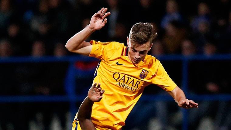 Oriol Busquets, uno de los jugadores que pasará el casting de Valverde