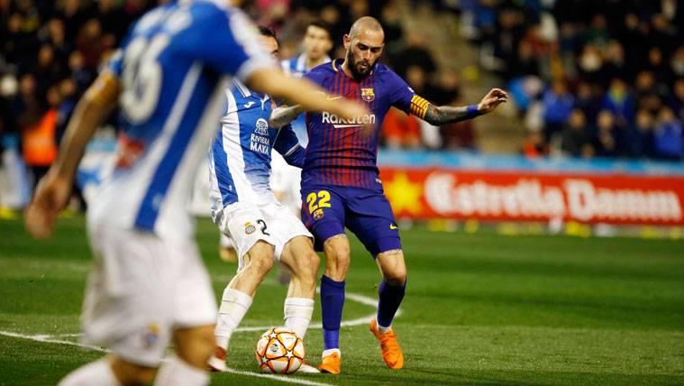 Aleix Vidal maneja tres ofertas para marcharse del FC Barcelona