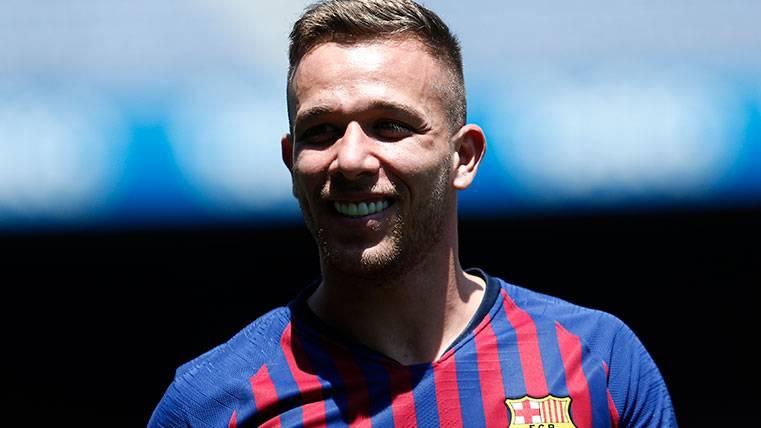 Arthur sigue brillando en los entrenos: El Barça ya tiene ganas de verle jugar