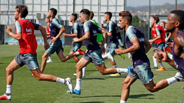 El Barça podría optar por un cambio radical con el futuro de Munir El Haddadi