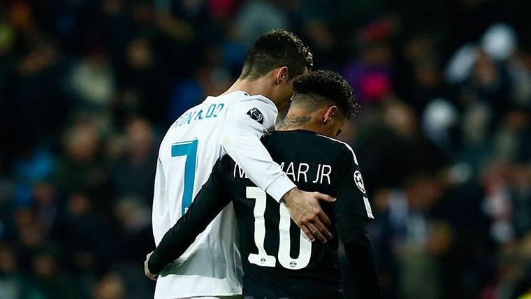 El mensaje de Neymar a Cristiano Ronaldo por su marcha a la Juve