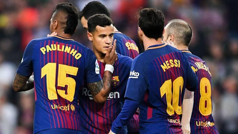 Jugada a tres bandas del agente de Paulinho, Coutinho y Willian