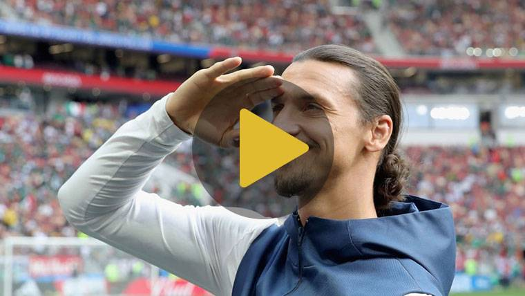 Enésima 'sobrada' de Zlatan Ibrahimovic en Estados Unidos