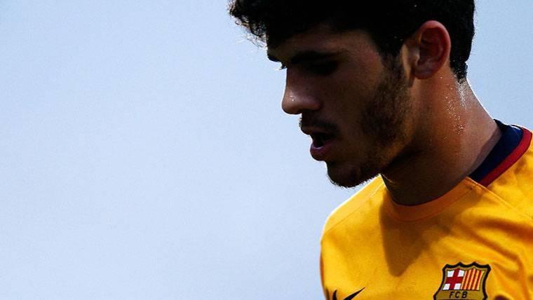 RECUPERACIÓN: Aleñá evoluciona de forma favorable y volvería con el Barça en octubre