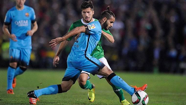 Douglas Pereira puede irse del Barça con la carta de libertad