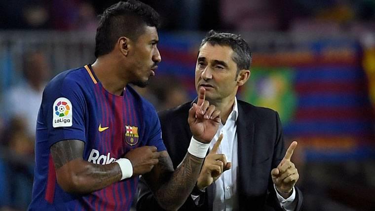 A Valverde no le habría sentado bien la marcha de Paulinho