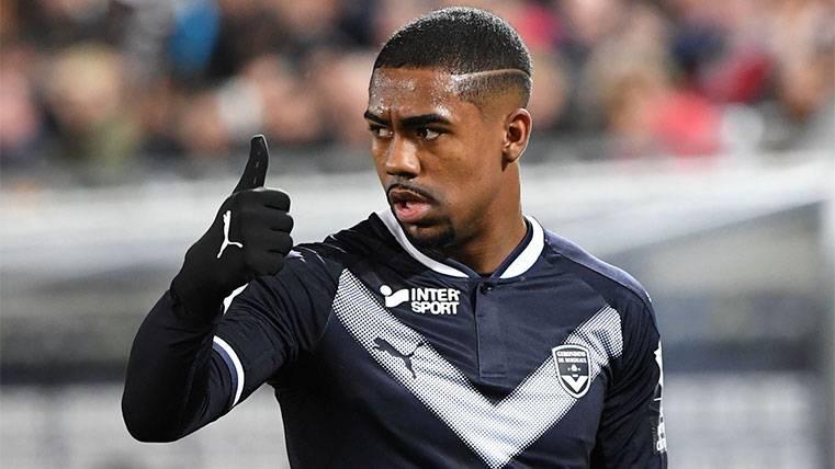 El dorsal que podría llevar Malcom en su nueva aventura en el Barça