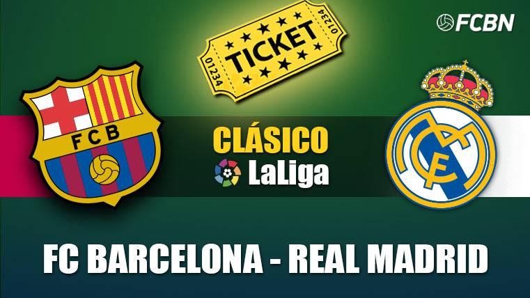 Entradas FC Barcelona vs Real Madrid - El Clásico 2018-2019