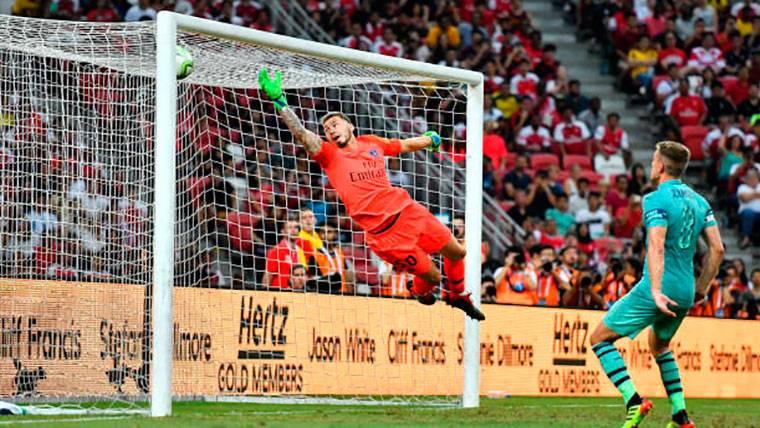 'Manotazo' de Unai Emery al PSG con Rabiot de titular (5-1)