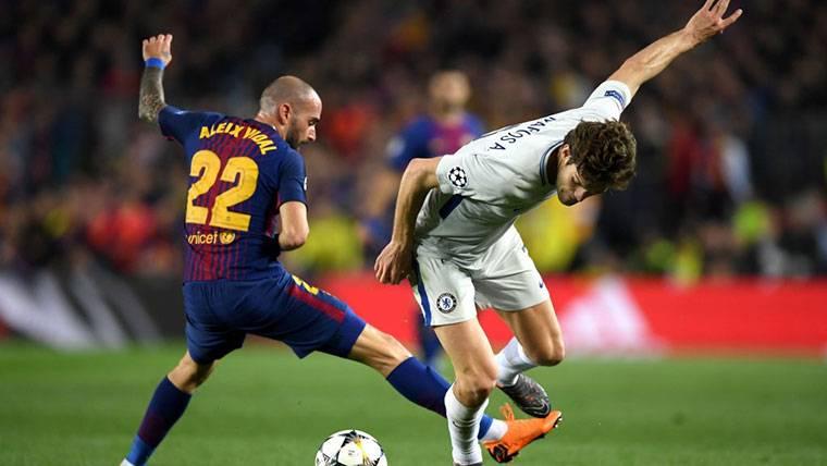 El Barça, a punto de traspasar a Aleix Vidal por 9 millones