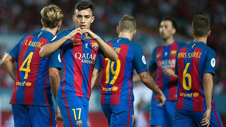 Aleix Vidal deja al Barcelona y es nuevo fichaje del Sevilla — OFICIAL
