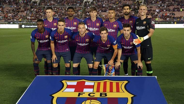 Estos son los dorsales del Barça durante la gira norteamericana