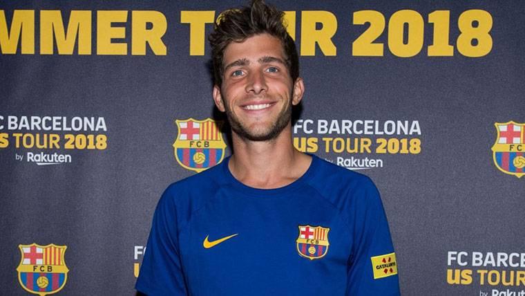 Sergi Roberto aleja cualquier polémica del FC Barcelona-Roma