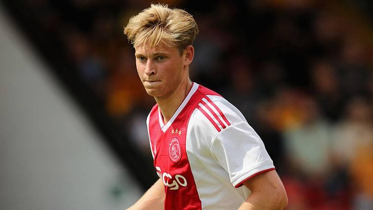 Frenkie de Jong revela las bromas en el Ajax sobre su posible fichaje por el Barça