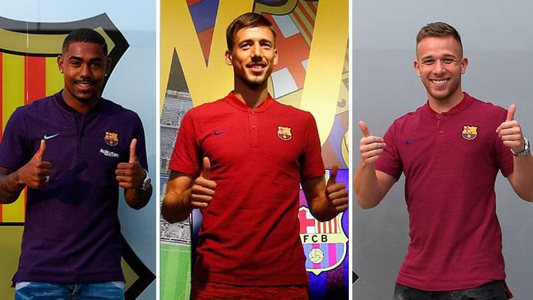 Los tres fichajes del Barça 2018-19, titulares en el amistoso contra la Roma
