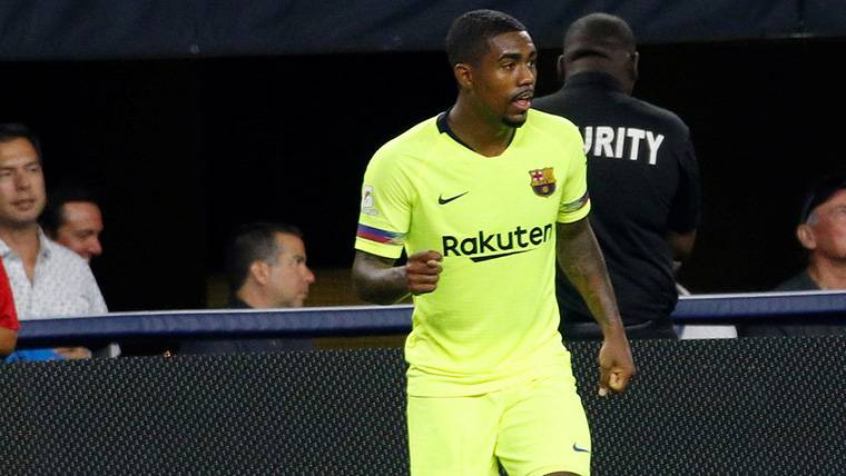 MORBO: Malcom marca su primer gol con el Barça... ¡Ante la Roma!