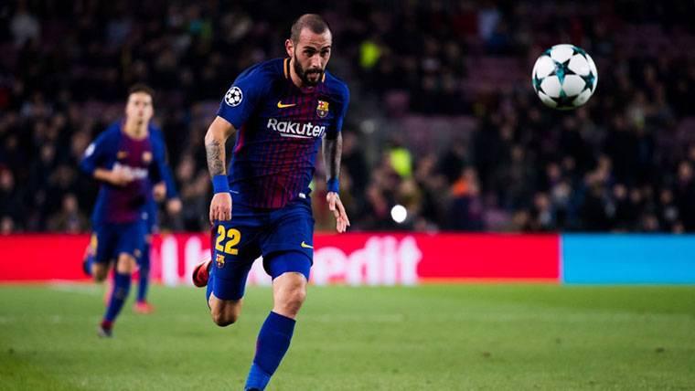 Cumplida la condición para que Aleix Vidal deje el Barcelona