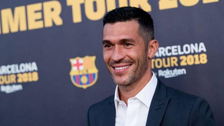 Luis García, presente en la gira norteamericana del FC Barcelona