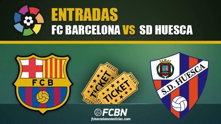 Entradas FC Barcelona vs Huesca - LaLiga Santander 2018-2019