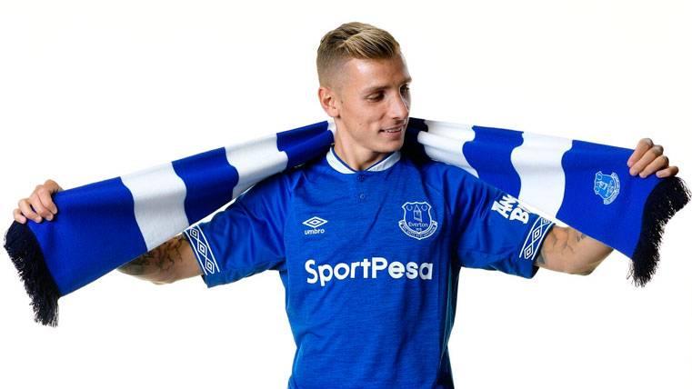 Lucas Digne admite que le pidió a Yerry Mina que fichara por el Everton