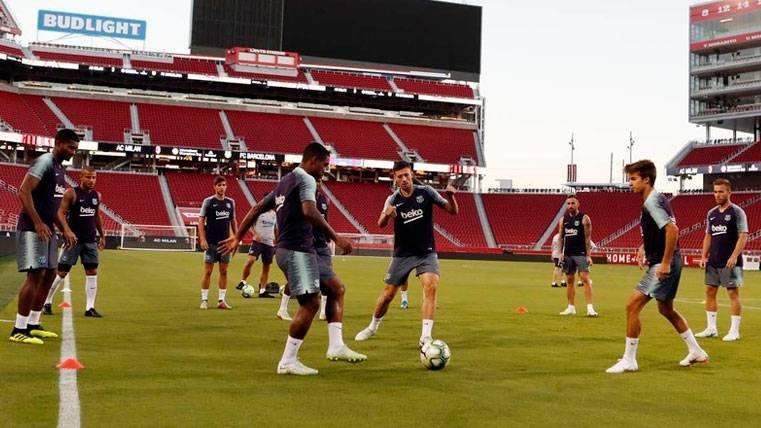 El once de Ernesto Valverde contra el Milan podría dar pistas de cara a la Supercopa de España
