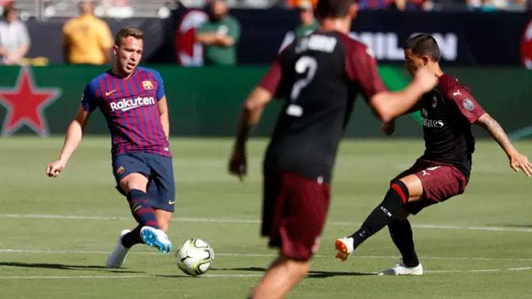 El dato que demuestra que Arthur puede ser algo más que un creador para el Barça