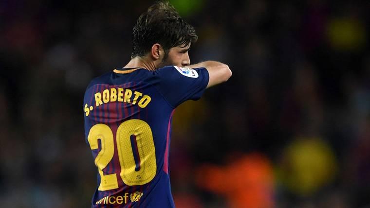 Nueva posición para el 'parche' Sergi Roberto en el Barça
