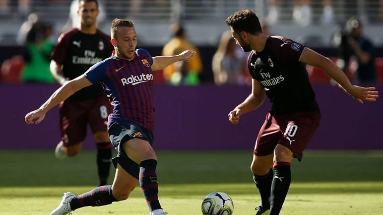 Arthur, con muchos números de ser el 'nuevo Iniesta' del Barça