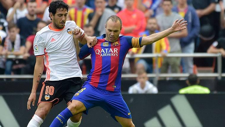 Nuevo lío entre Barça y Valencia por un rumor sobre Dani Parejo