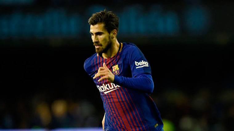 OFICIAL: El FC Barcelona cede a André Gomes al Everton