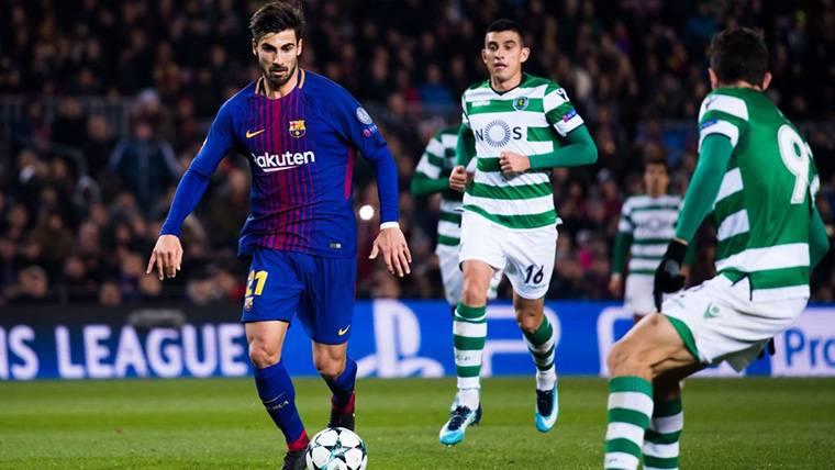 André Gomes regresará al Barça al término de esta temporada