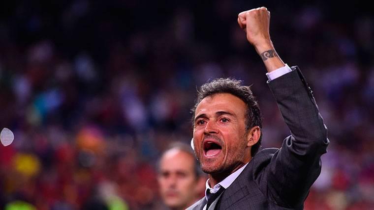 La respuesta de Luis Enrique a la renuncia de Piqué a la selección