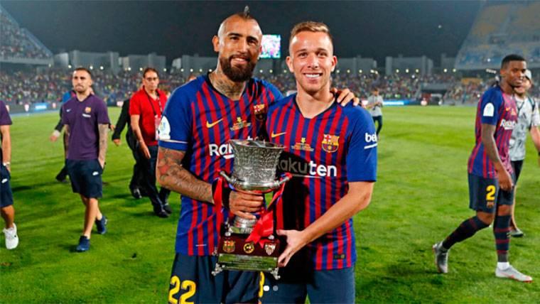 El 1x1 de los fichajes del Barça en la Supercopa contra el Sevilla