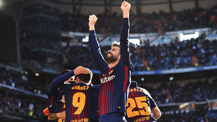 Gerard Piqué cumple una década en el Barça destacando su mejor recuerdo en el club