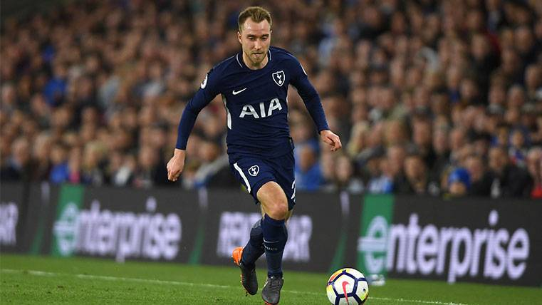 El Tottenham vuelve a estar en alerta por el futuro de Christian Eriksen