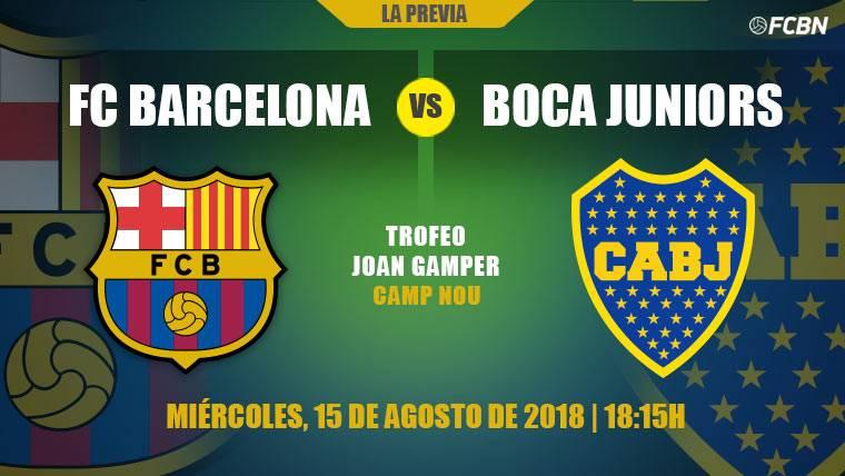 La fiesta del Gamper, última prueba del Barça antes de LaLiga