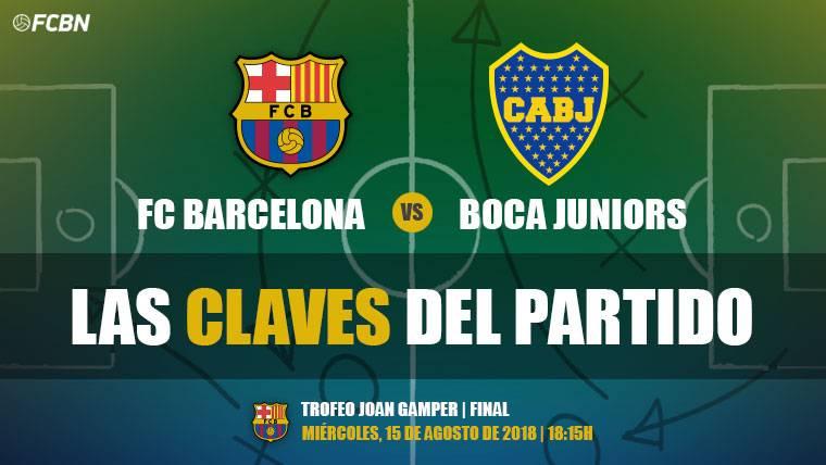 Las claves del Barcelona-Boca Juniors del Trofeu Joan Gamper