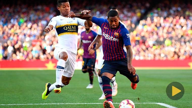 Malcom vino, vio y marcó: ¡Golazo con el Barça en su debut en el Camp Nou!