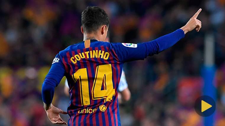 La jugada de Philippe Coutinho en el Gamper que puso en pie al Camp Nou