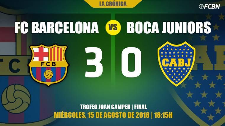 El Barça 2018-19 se presenta con una victoria de muchos lujos en el Camp Nou (3-0)