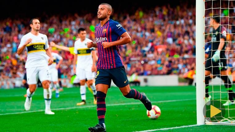 Así queda la tabla de goleadores de la pretemporada del Barça 2018-19