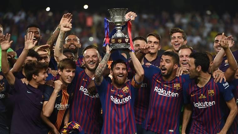Dinámicas opuestas de Barcelona y Real Madrid en sus Supercopas