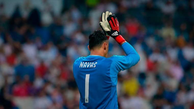 Keylor ya sufre la presión de Courtois y sale 'tocado' de la Supercopa de Europa