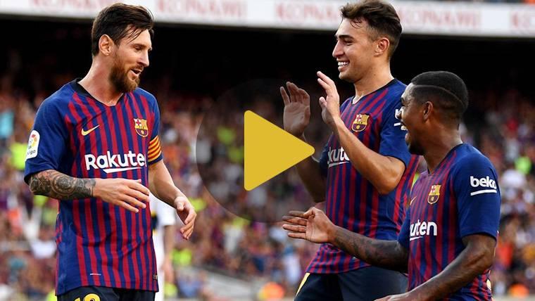 Vídeo resumen: Barcelona 3 Boca Juniors 0 (Trofeo Joan Gamper)