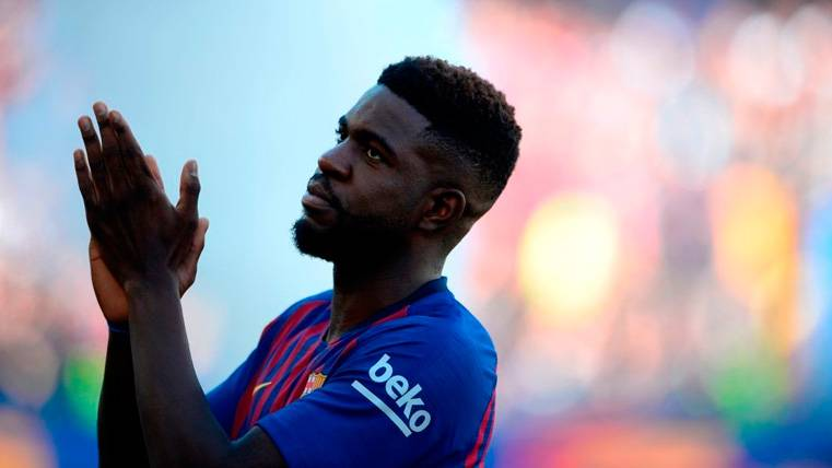Para Umtiti no pasa el tiempo: Brillante en su primer partido con el Barça 2018-19