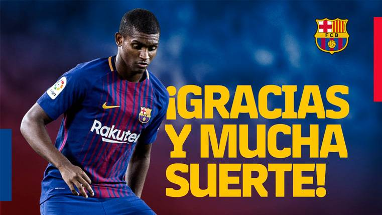 El mensaje de despedida del FC Barcelona a Marlon Santos | FCB