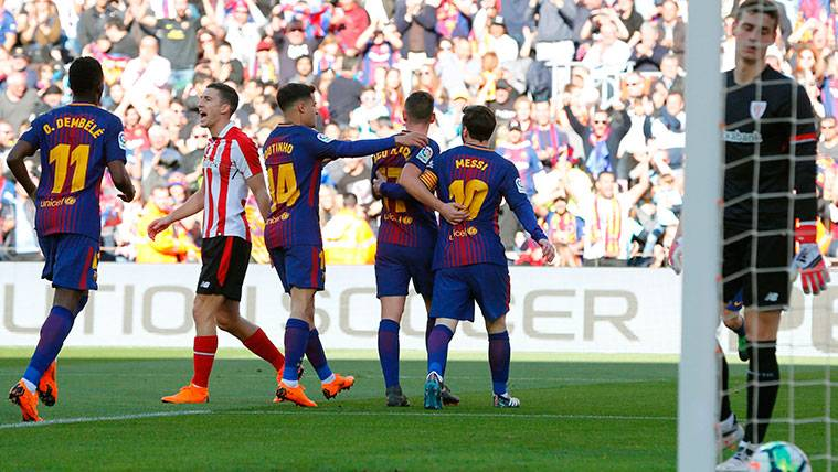 El Barça buscará contra el Deportivo Alavés su gol 6.000 en LaLiga