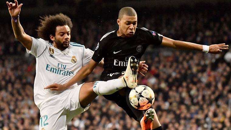 Florentino bromea sobre el fichaje fallido de Kylian Mbappé por el Real Madrid
