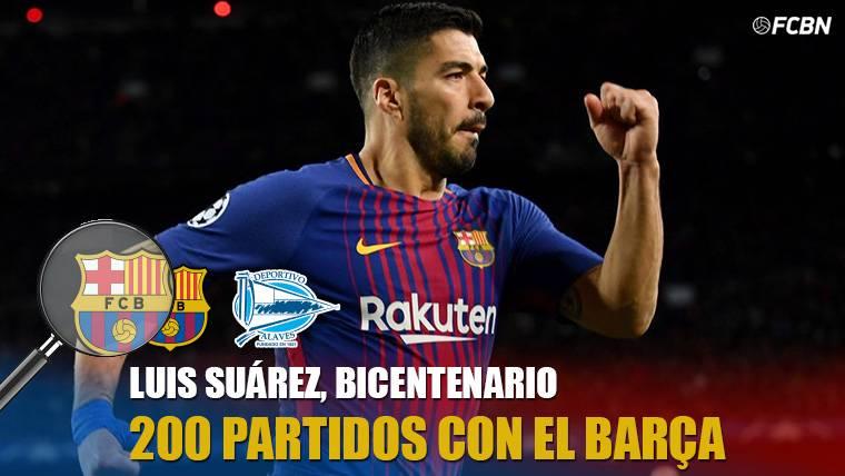 Cifras bestiales de Luis Suárez en sus 200 partidos con el Barça